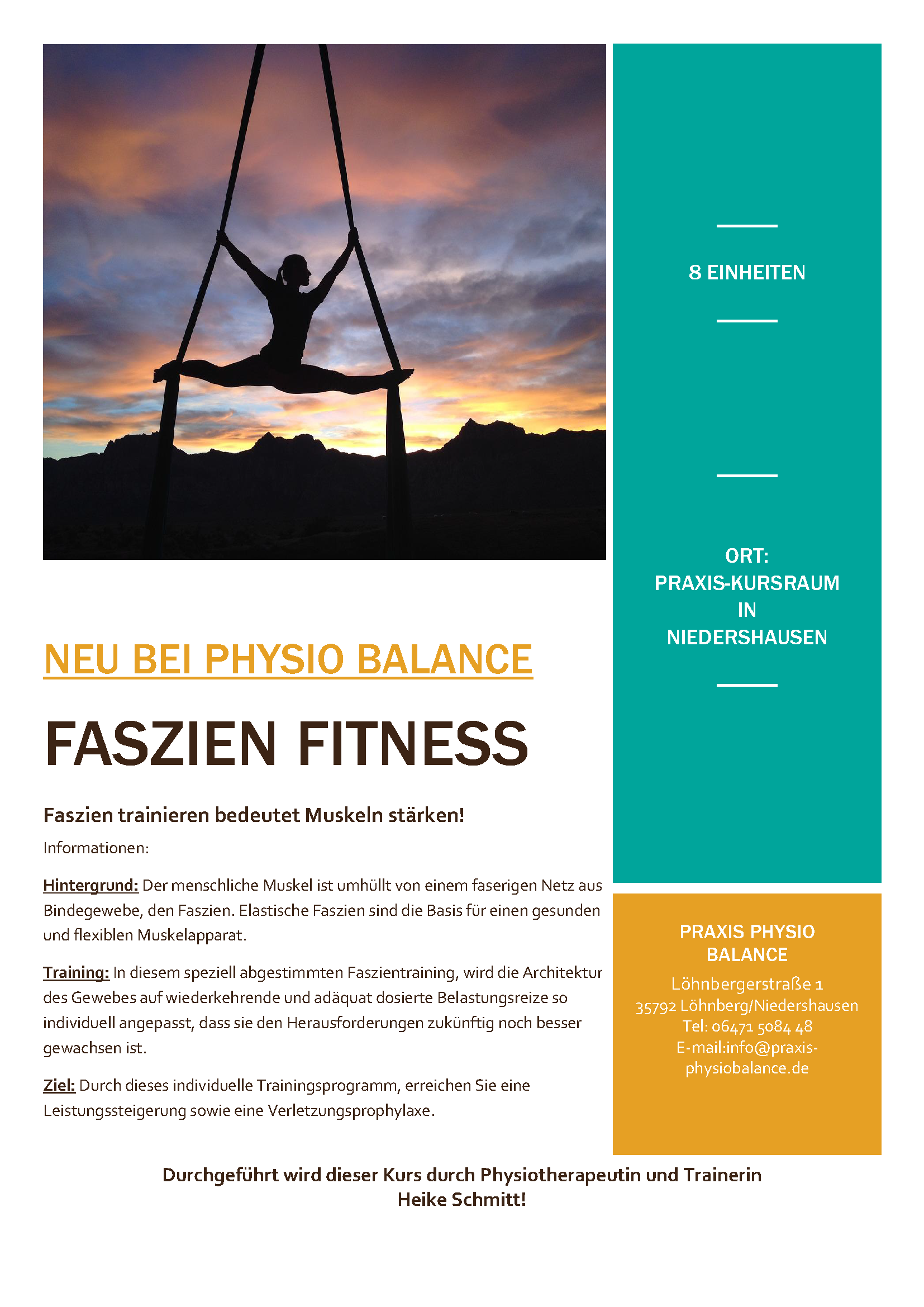 Faszien Fitness Flyer2017